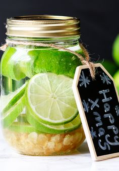 How to make ginger-lime infused vodka in 5 minutes