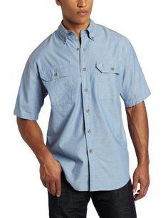 Carhartt Men's Big & Tall Fort Short Sleeve Shirt Lightweight Chambray Button Front,Blue Chambray,Large Tall Carhartt http://www.amazon.com/dp/B003DVL12O/ref=cm_sw_r_pi_dp_.PVOvb0G8FR2Q