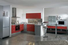Attrayant #1 4 Pictures Of This Kitchen   Http://www.kitchen  Design Ideas.org/pictures Of Kitchens Modern Two Tone Kit163.html