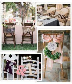 Treats for your Seats - Wedding Chair Decor | OneFabDay.com Ireland