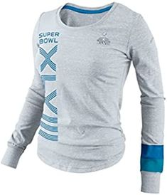 Nike Women's Super Bowl Xlviii Long-Sleeve T-Shirt Sports Fan Shop, Tshirts Online, Super Bowl, Lounge Wear, Long Sleeve Tees, Tee Shirts, Lady, Sleeves, How To Wear