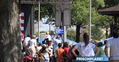 Hillary Hijacks Public Party To Fake Her Crowd Size