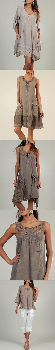 Boho in sand and linen