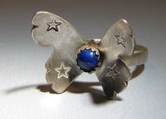 #niciart.com              #ring                     #Sterling #Silver #Butterfly #Cocktail #Ring #with #Lapis #Stone #Nici's #Custom #Guitar #Picks #Jewelry                          Sterling Silver Butterfly Cocktail Ring with Lapis Stone - Nici's Custom Guitar Picks and Jewelry                                 http://www.seapai.com/product.aspx?PID=1287378