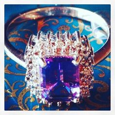 Delicious!  Amethyst rings on the site.  Help children in need by purchasing from LittleGemsUSA