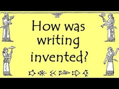 Who invented Writing? What was Cuneiform? Oldest Writing, Ancient Mesopotamia [School History online 6th Grade Social Studies, Social Studies Resources, Teaching Social Studies, Teaching Writing, Teaching Posts, History Teachers, History Class, Teaching History, Study History