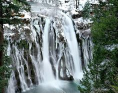 Burney Falls ~ Jan. 2013  Went there today.... so beautiful!!!!