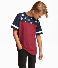 463 best t shirts images in 2019 kids fashion, little boys, little  t shirt in sturdy, printed jersey with a ribbed neckline