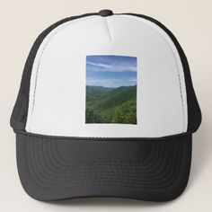 A mountain view trucker hat - photography gifts diy custom unique special