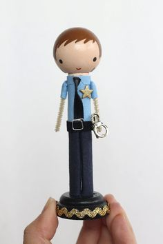 Law enforcement never looked any cuter--the perfect gift for your favorite local hero! This doll is customizable.