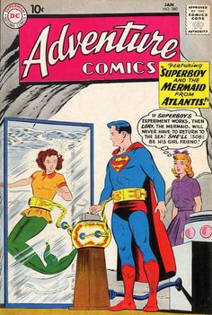 Adventure Comics Vol 1 280 Lori Lemaris is a descendant of the people of Atlantis that would evolve into the people of Tritonis, a sect of undersea humans whom adapted to have fish like tails. She would become a regular part in the life of Superman.