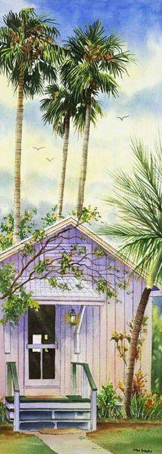 Watercolors by John Bowen
