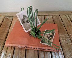 Vintage Green Metal Tie Holder or Letter Storage Wall Mount by NostalgicNuance on Etsy https://www.etsy.com/listing/503052144/vintage-green-metal-tie-holder-or-letter