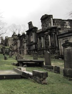 Haunted Greyfriar's Cemetery, Edinburgh