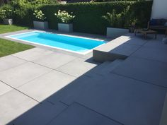 Dream Pools, Green Garden, Garden Inspiration, Swimming Pools, Yard, Patio, Landscape, Outdoor Decor, Beautiful