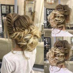 Elstile Long Wedding Hairstyle Inspiration