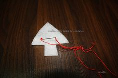 Felt Fabric DIY Christmas tree ornaments