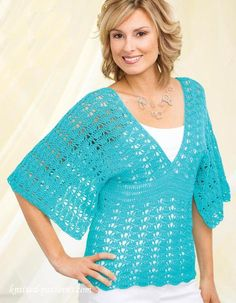 Free #Crochet top pattern | knitted-patterns.com