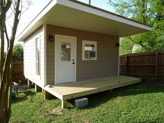 convert a shed