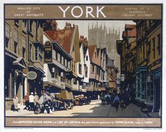 Railway Posters offers the largest selection of Licensed National Railway Museum (NRM) merchandise in one place, anywhere in the world. We have a wide range of superb quality products. British Travel, York Minster, National Railway Museum, Tourism Poster, London Transport, Public Transport, Railway Posters, Walled City, Vintage Travel Posters