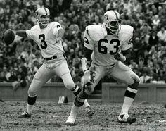 Daryle Lamonica, Gene Upshaw, Oakland Raiders