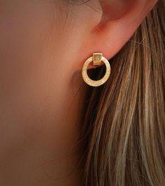 Bidri Stud Craft Metal Jewellery Silver Inlay Stud Earrings Handmade Jewellery