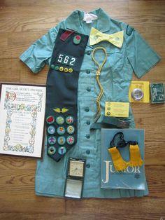 girl scout uniform.usa.