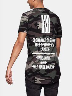 print t-shirt groen