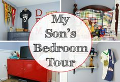 my son's bedroom tour