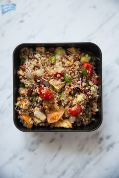 Lunch box do pracy Bento Box Lunch, Kung Pao Chicken, Fried Rice, Meal Prep, Food And Drink, Meals, Dinner, Cooking, Ethnic Recipes