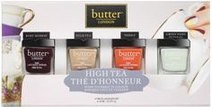 Butter LONDON High Tea Collection, Nail Lacquer Gift Set | whatgiftshouldiget.com