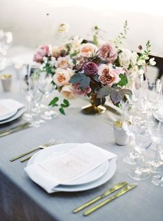 Good gracious, this wedding. This garden set, floral-filled, impeccably styled wedding. It's got some insanely talented vendors behind it, including Jose Villa, Bustle Events, Nicolette Camille, TEAM, and Paula LeDuc, but it's also got a ton of heart. Read: the