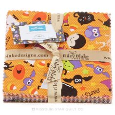 Halloween Parade Charm Pack from Missouri Star Quilt Co