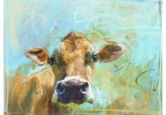 TheWindyLilac.com-Sharing All Things Home-FARMHOUSE DECOR-Jersey cow 2