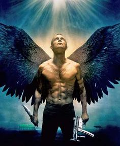 Michael, archangel, from the movie, Legion - played by Paul Bettany