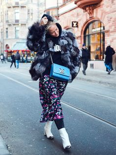 Stockholm Fashion Week Street Style