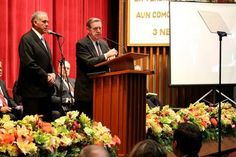 Elder Jeffrey R. Holland of the LDS Church's Quorum of the Twelve Apostles tells his audience in Mexico City that