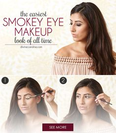 The smokey eye is an intimidating makeup look women have been steering away from for years. With this tutorial, the combination of sultry, dark eyeshadow and thick eyeliner is easy enough for anybody to do.