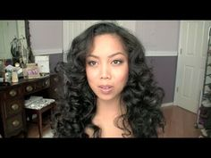 How-to Heatless Curls Hair Tutorial with sponge rods from -itsJudyTime    I never knew this was THAT easy. wow, cant wait to try it!