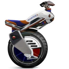 Ryno: single-wheel scooter with high maneuverability (video)
