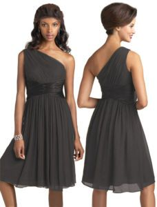 pretty :) grey bridesmaids dresses @Christina Goloway