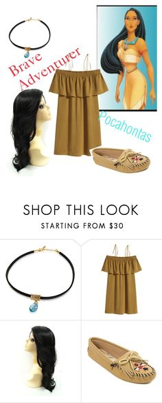 """""""Pocahontas"""" by the-disney-is-strong-with-me ❤ liked on Polyvore featuring Minnetonka"""