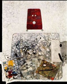 Father Ubu with son Artist: Max Ernst Style: Surrealism Genre: genre painting Tags: families