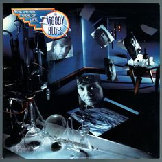 """The music on #The #Other #Side of #Life marked the beginning of dominant synthesizer use by the #Moody #Blues, a surprising stylistic change for a band that had pioneered #symphonic rock. Dubbed """"the #MoodyBlues' best album in five years,"""" it features the Top 10 single #YourWildestDreams, authored by #JustinHayward, which also had a very entertaining video featuring young British psychedelic rockers the #MoodSix playing the young #MoodyBlues. #TheOtherSideOfLife #Vinyl #LP"""