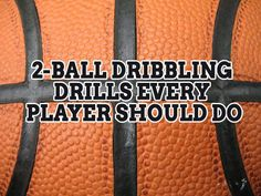 Eliminate your weak dribbling hand! Here are 2-Ball Dribbling Drills Every Player Should Do!  http://topdribblingdrills.com/two-ball-dribbling-drills/ #basketball #dribbling #drills