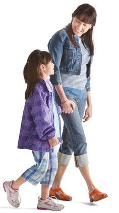 Figura Humana - mae e filha