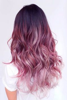 Vibrant Ombre Hairstyles for Long Hair ★ See more: http://lovehairstyles.com/vibrant-ombre-hairstyles-long-hair/