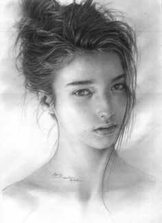 Beautiful pencil drawing works by Hari Willy. Pencil Drawings For Beginners, Pencil Drawing Tutorials, Drawing Ideas, Beautiful Pencil Drawings, Bird Drawings, Face Pencil Drawing, Pencil Art, Drawings Of Love Couples, Woman Sketch