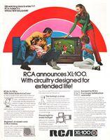 RCA XL-100 Color TV 1971 Ad Picture