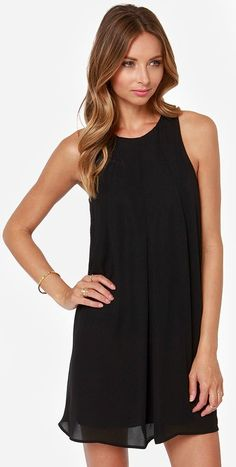 Chic Little Black Dress #LBD